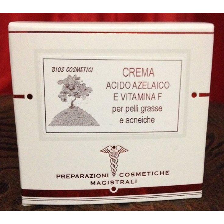 Bios Cosmetics Acid Azelaic Cream Vitamin F Oily and Acneic Skin 50ml