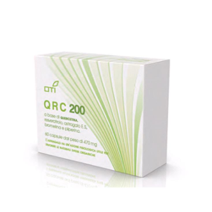 OTI QRC 200 Homeopathic Medicinal 60 Capsules