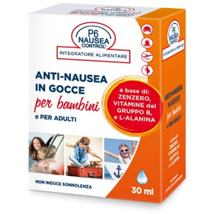 P6 Nausea Control Sea Band Anti-Nausea in Drops for Children Food Supplement 30ml