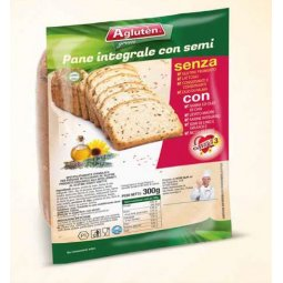 Agluten Wholemeal Bread With Seeds Gluten Free 300g