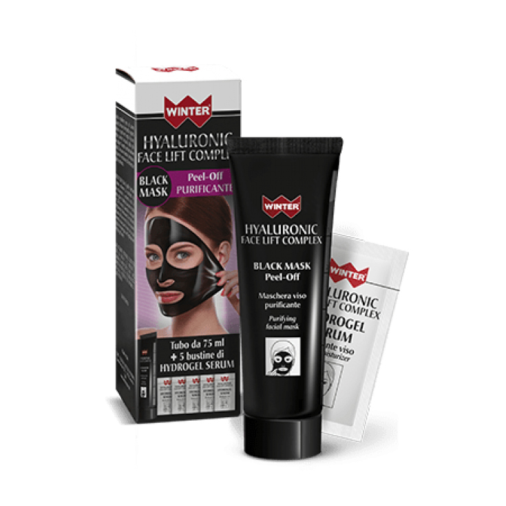 Winter Hyaluronic Face Lift Complex Black Mask 75ml