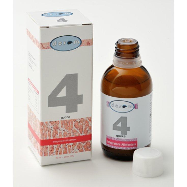 Desom 4 Food Supplement Spray 50ml