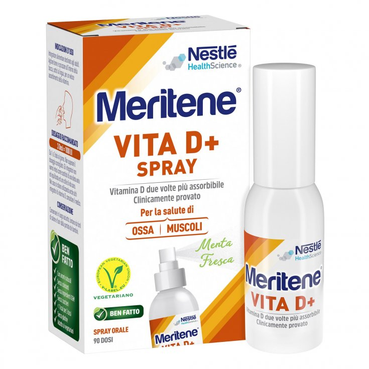 Nestlé Heath Science Meritene Life D + Spray Food Supplement 18ml