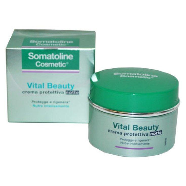 Somatoline Face Cream Vital Beauty Night 50ml