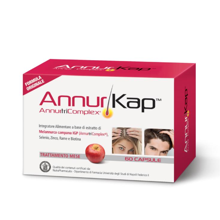 AnnurKap Dietary Supplement 60 Capsules Treatment Month