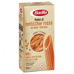 Barilla Penne With Red Lentil Gluten Free 250g