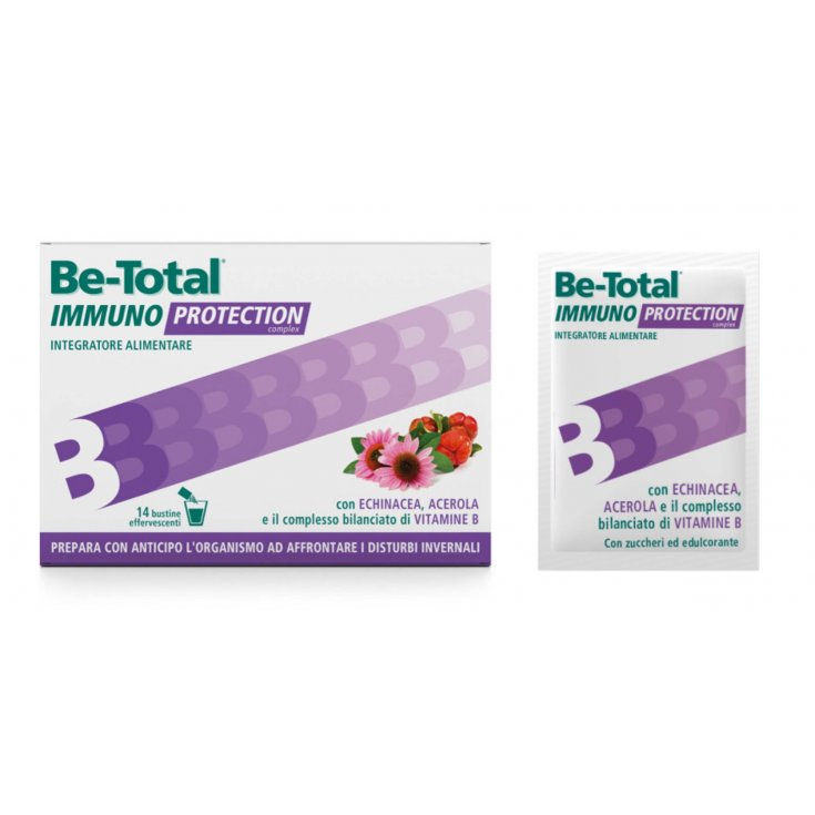 Be-Total Immuno Protection Food Supplement 14 Sachets