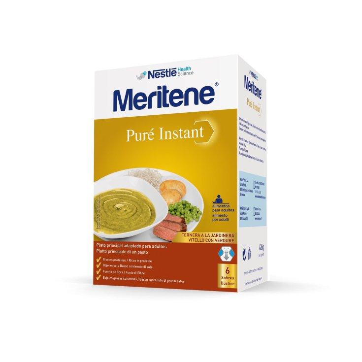 Meritene Veal With Vegetables 6 Sachets