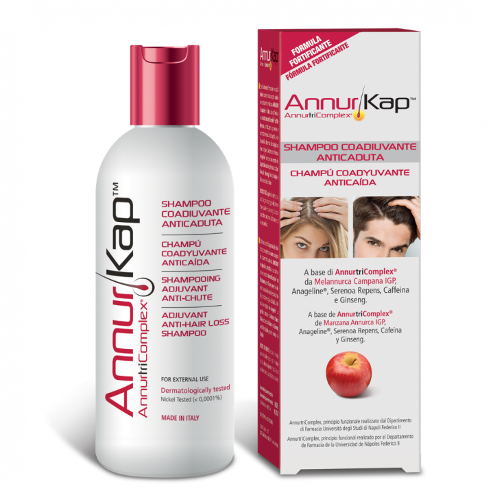 AnnurKap® Anti-Hair Loss Adjuvant Shampoo 200ml