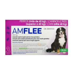 AMFLEE® 402mg Spot-On Dogs Over 40Kg KRKA 3 Pipettes
