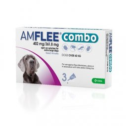 AMFLEE® Combo 402mg / 361,8mg Dogs (+ 40Kg) KRKA 3 Pipettes