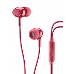 AQL Acoustic Pump Bass In-Ear Cellularline Red 1 Pair