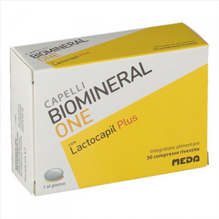 Biomineral One Lactocapil Plus Meda 30 Tablets