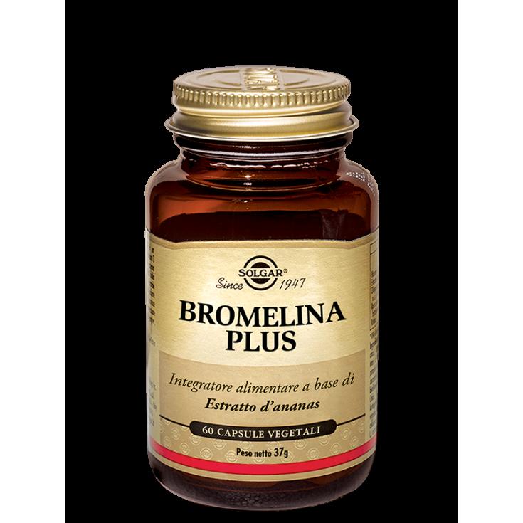 Bromelain Plus Solgar® 60 Capsules