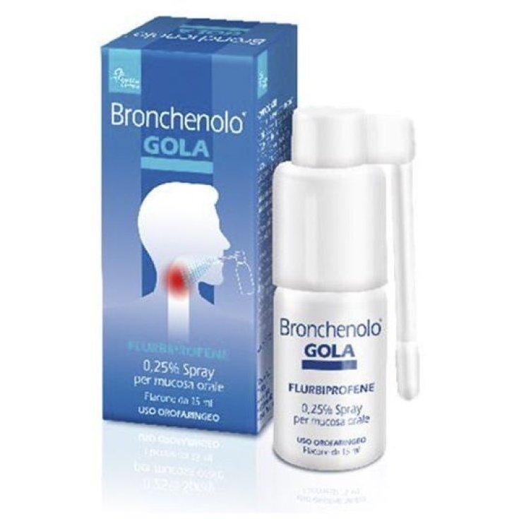 Bronchenolo® Throat 0.25% Spray 15ml