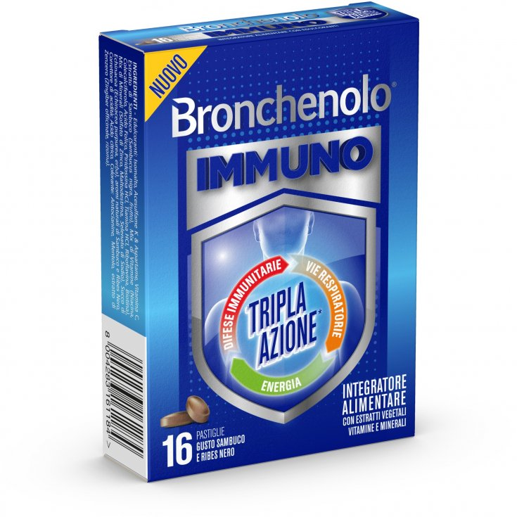 Bronchenolo® Immuno Triple Action 16 Tablets