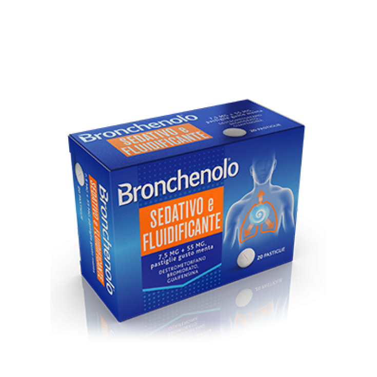 Bronchenolo® Sedative And Fluidifying 20 Tablets