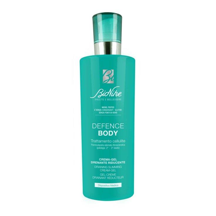 Defense Body Treatment Cellulite Draining Reducing Cream-Gel BioNike 400ml