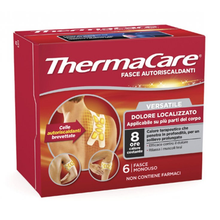 VERSATILE SELF-HEATING BANDS ThermaCare® 6 Pieces