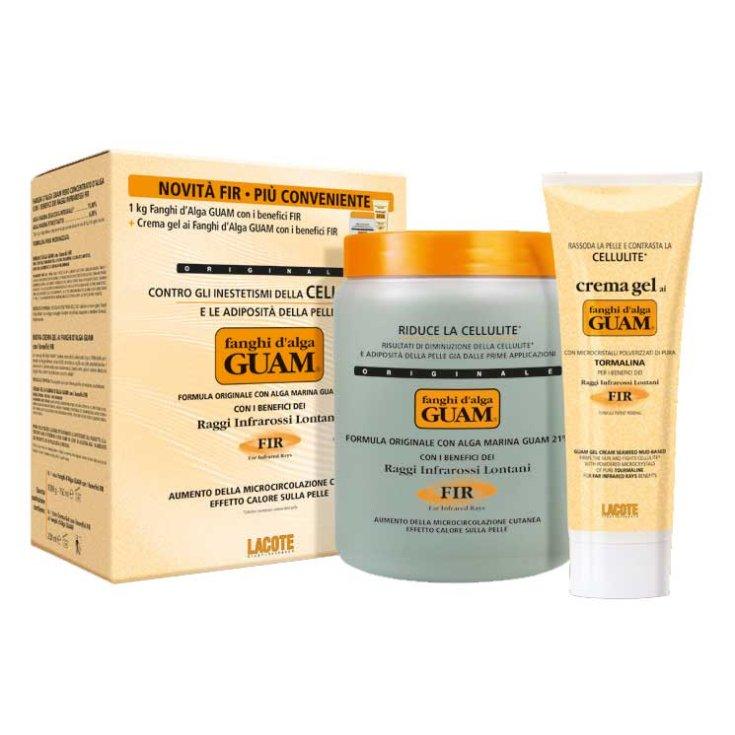 Guam FIR Seaweed Mud Convenience Format 1Kg + Gel Cream 200ml