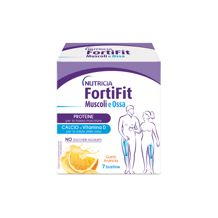FortiFit MUSCLES AND BONES ORANGE NUTRICIA 7 Sachets