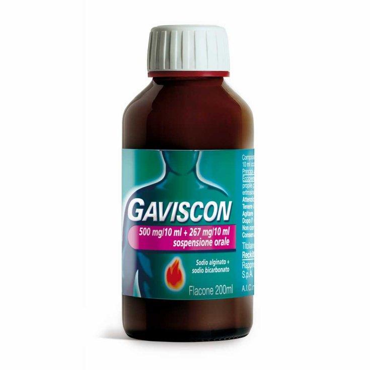 Gaviscon 500 + 267mg / 10ml Oral Suspension Fennel Aroma 200ml