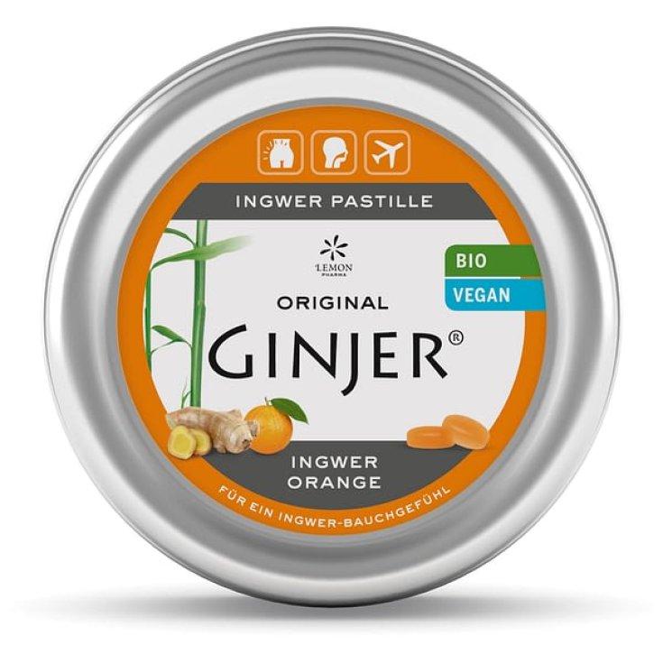 Ginjer® Orange Lemon Pharma 34 Tablets 40g