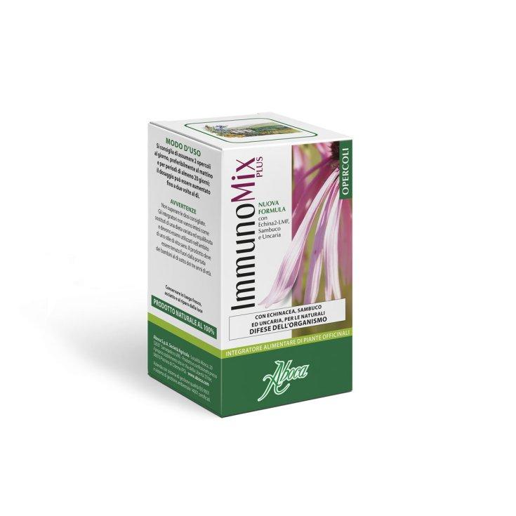 Aboca ImmunoMix Plus Food Supplement 50 Capsules 500mg