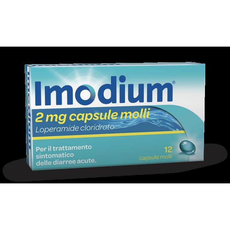 Imodium® 2mg 12 Soft Capsules