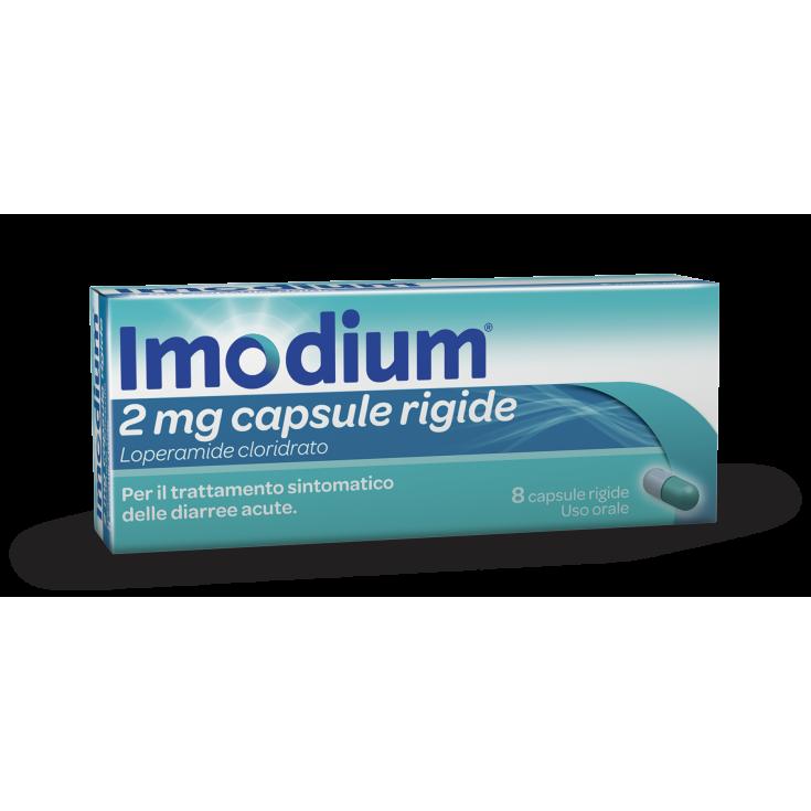 Imodium® 2mg 8 Hard Capsules