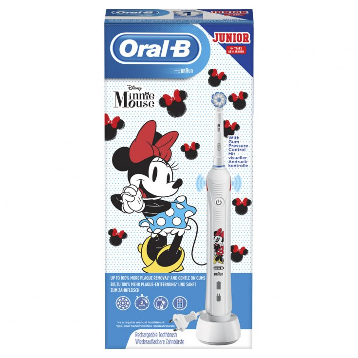Junior Minnie Oral-B® Rechargeable Electric Toothbrush