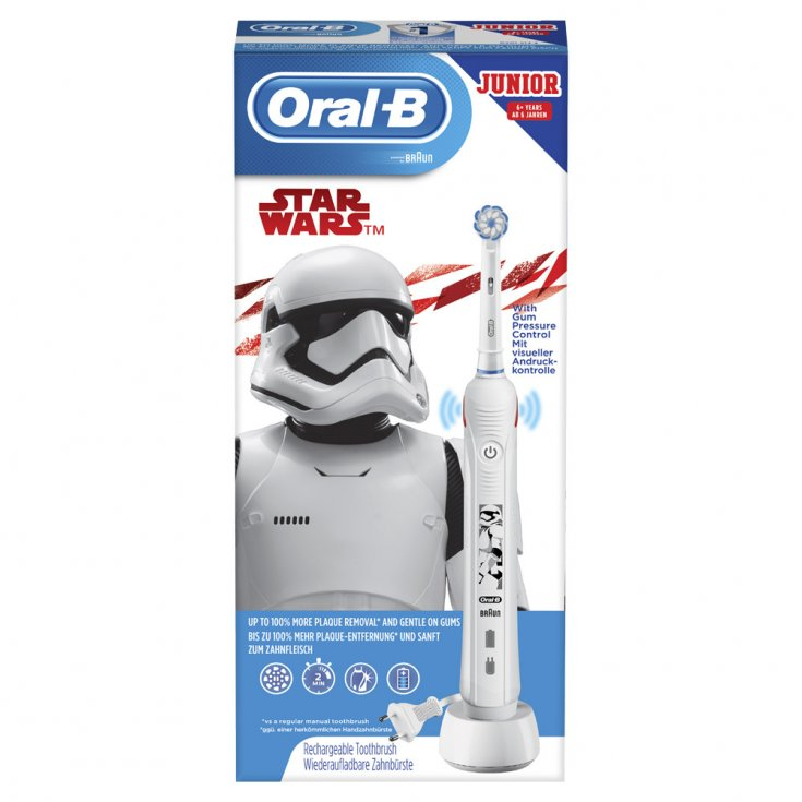 Junior Star Wars Oral-B® Rechargeable Electric Toothbrush