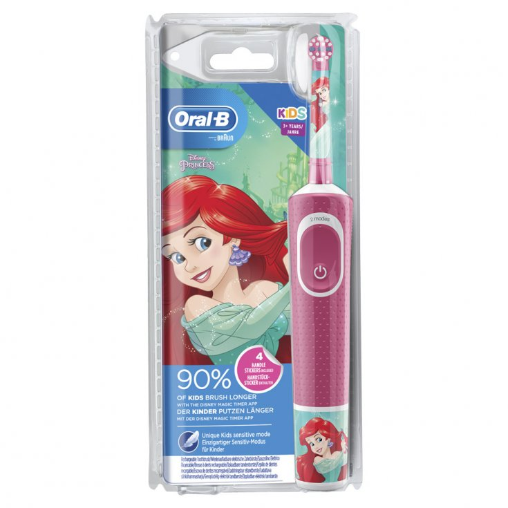 Kids Rechargeable Electric Toothbrush Princesses Oral-B®