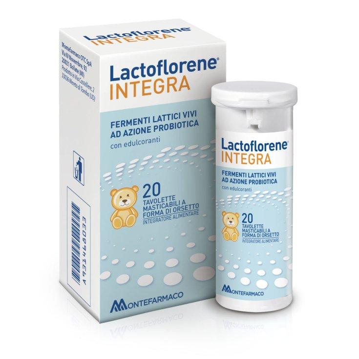 Lactoflorene® INTEGRA MONTEFARMACO 20 Chewable Tablets