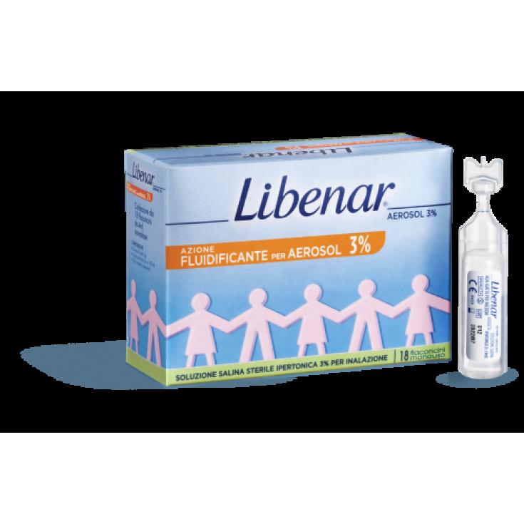 Libenar® Hypertonic Solution For Aerosol 3% 18 Vials