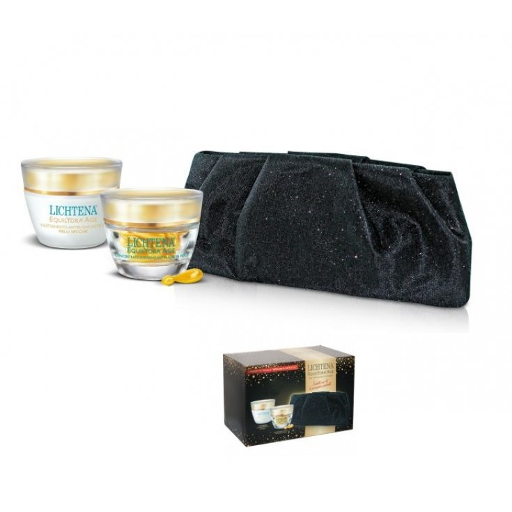 Lichtena Equilidra Age Anti-Age Casket Anti-Wrinkle Cream and Intensive Pearl Concentrate