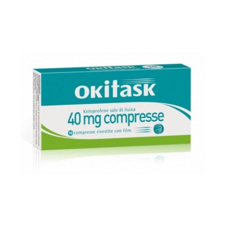 Okitask 40mg Dompé 10 Coated Tablets