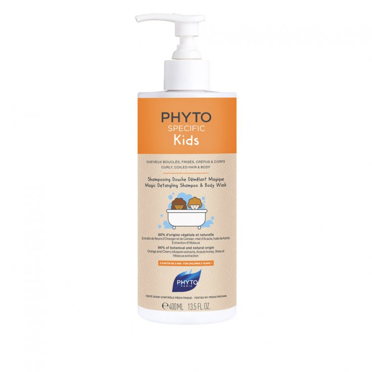 Phytospecific Kids Phyto Magic Detangling Shower Shampoo 400ml