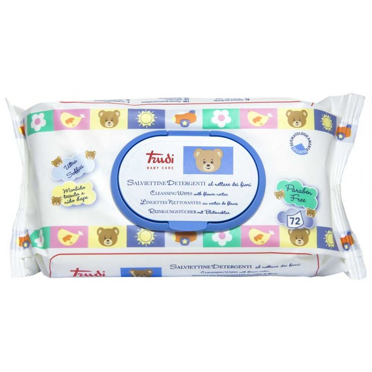 Trudy Baby Care Cleansing Wipes 72 Pieces