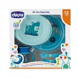12m Baby Food Set + Chicco® Baby