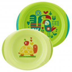 12m Bottom And Top Plates Set + Chicco® Green