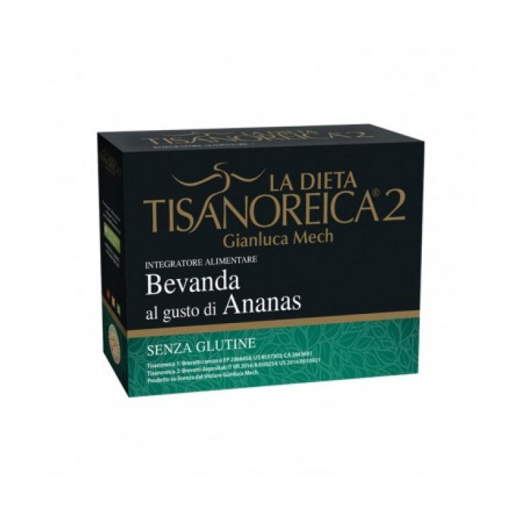 Tisanoreica 2® Gianluca Mech® Pineapple Flavored Drink 4x28g