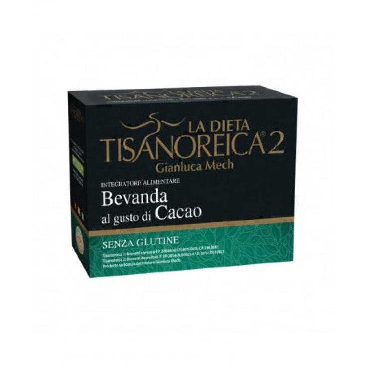 Tisanoreica 2® Ginaluca Mech® Cocoa Taste Drink 4x31.5g