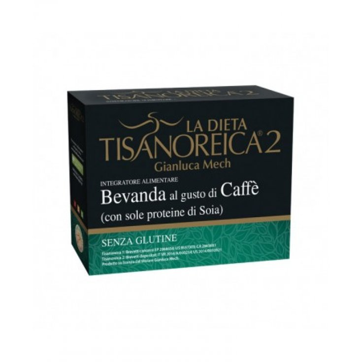 Tisanoreica 2® Gianluca Mech® Coffee Flavored Beverage 4x30g