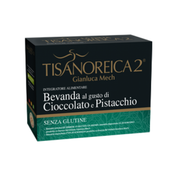 Tisanoreica 2® Gianluca Mech® Chocolate And Pistachio Flavored Drink 4x30g