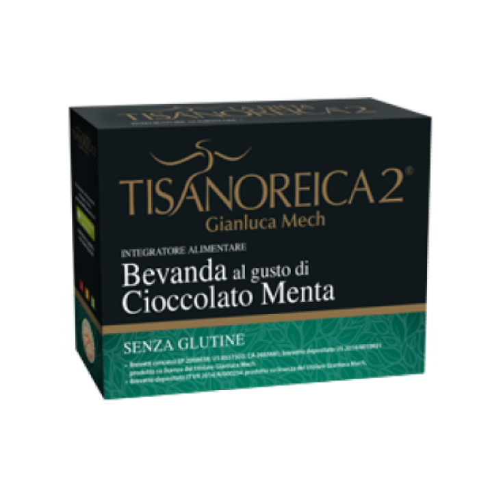 Tisanoreica 2® Gianluca Mech® Mint Chocolate Flavored Drink 4x30g