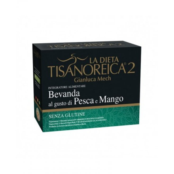 Tisanoreica 2® Gianluca Mech® Peach And Mango Flavored Drink 4x28g