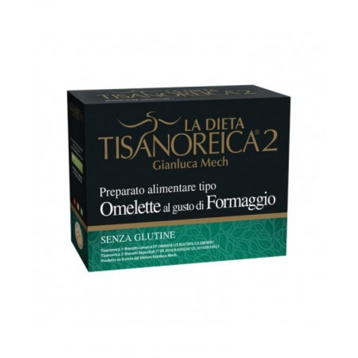 Tisanoreica 2® Prepared Type Omelette With Cheese Flavor Gianluca Mech® 4x27,5g