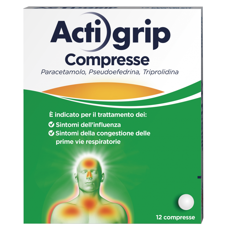 ACTIGRIP 12 Tablets