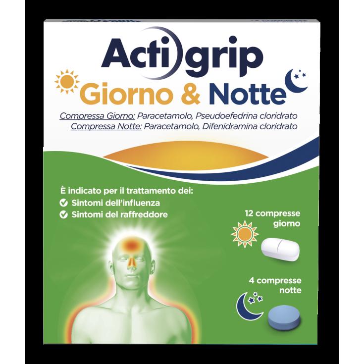 ACTIGRIP Day & Night 12 + 4 Tablets